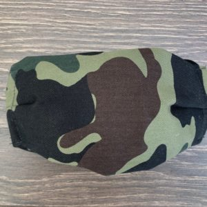 Men's Camo Double Layer Cotton Mask