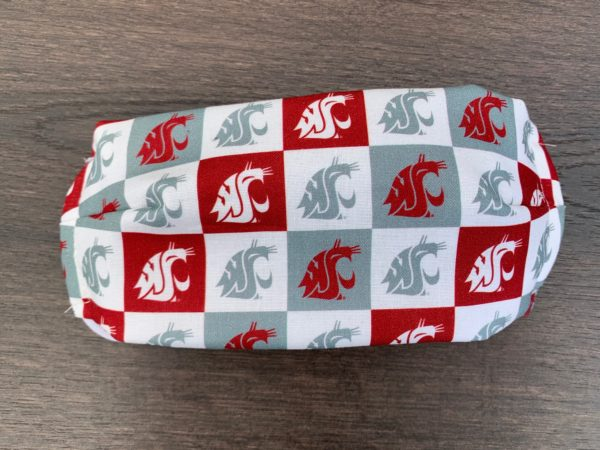 WSU Cougar's Team Player Double Layer Cotton Mask