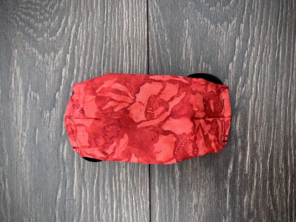 Aloha Red Batik Face Mask