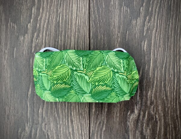Bright Leaves Double Layer Cotton Mask