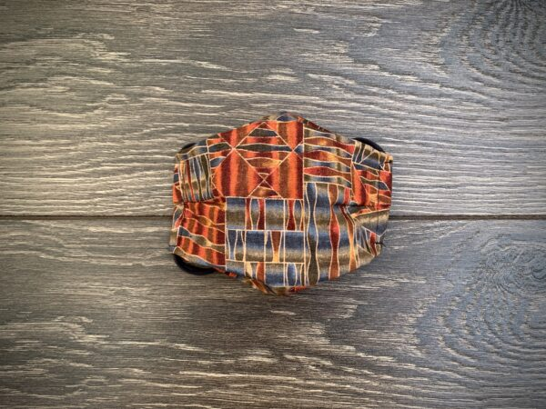 Stained Glass Double Layer Cotton Face Mask