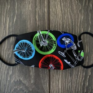 Kids Bike Double Layer Cotton Mask
