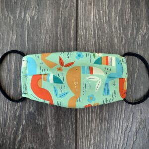 Toucan Kids Double Layer Cotton Mask