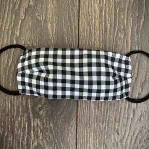 Gingham Double Layer Cotton Mask