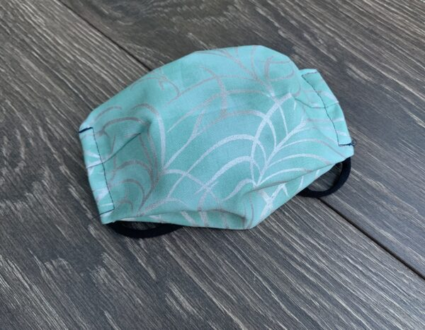 Teal Double Layer Cotton Mask