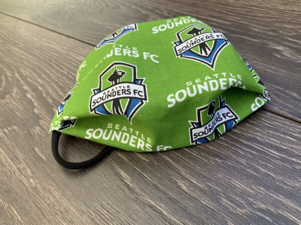 Seattle Sounders Cotton Face Mask