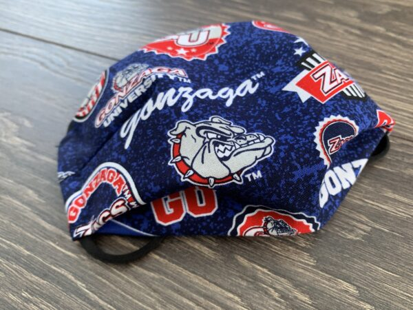 Blue Go Zags Double Layer Cotton Mask