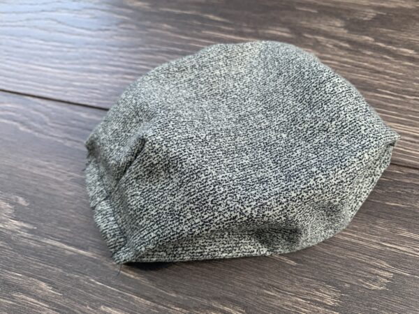 Static double layer cotton mask