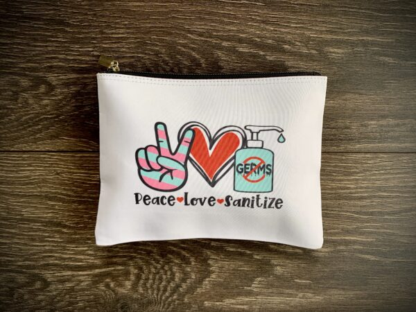 peace love and sanitize