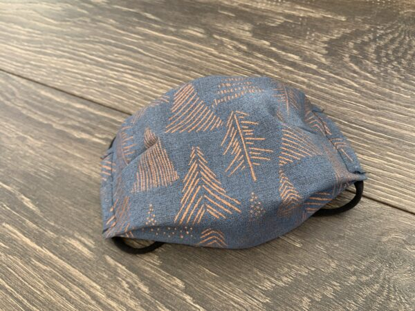 copper trees double layer cotton mask