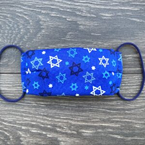 Hanukkah star mask