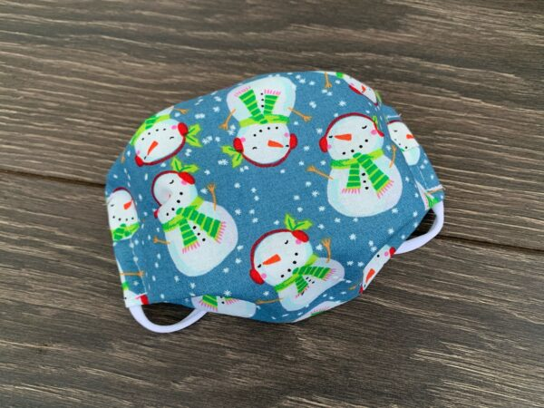 snowman double layer cotton mask