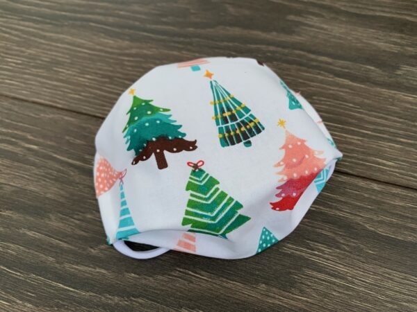christmas tree double layer cotton mask