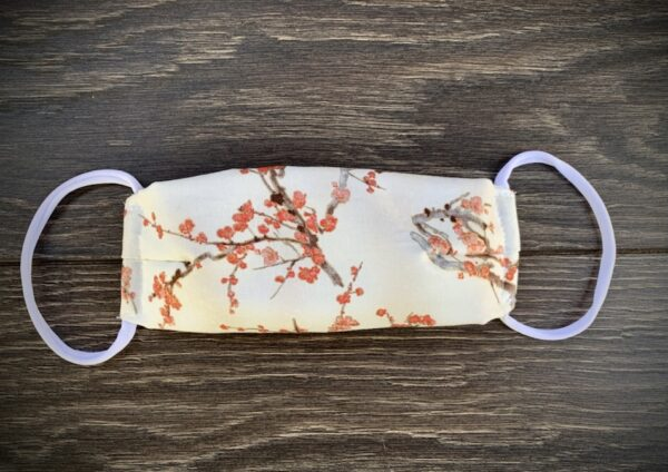 Cherry Blossom Cotton Mask
