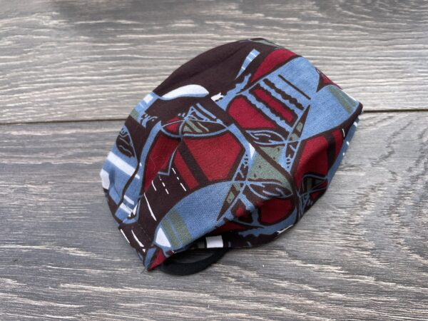 African double triple layer mask