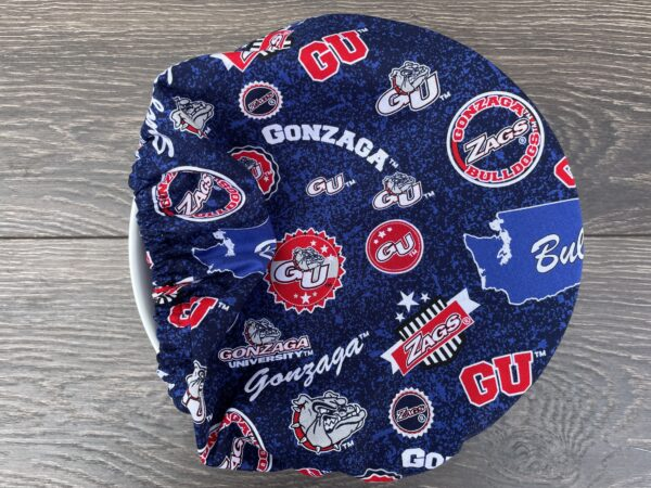 Blue Zags bowl cover
