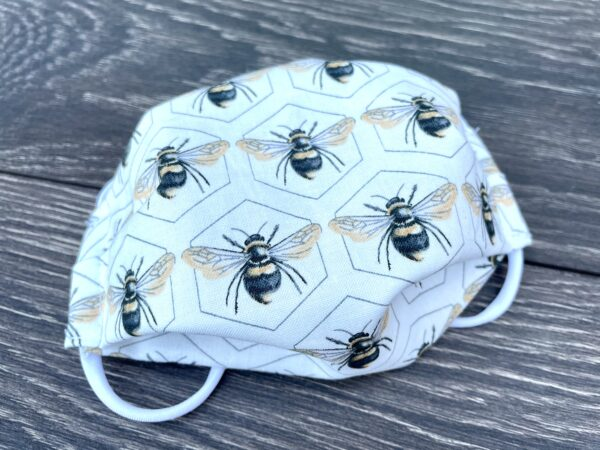 bee cotton mask