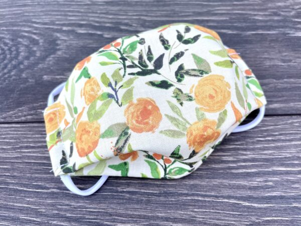 rose garden double or triple layer mask
