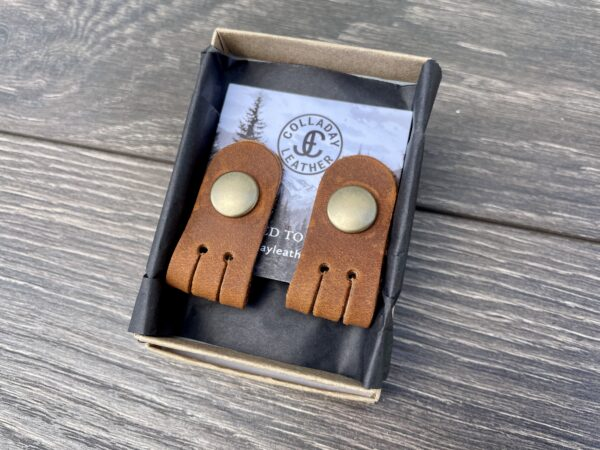 Leather Cord Keepers