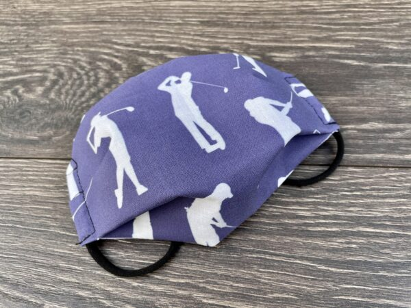 Golf double layer cotton mask