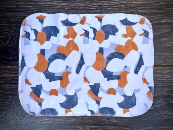 cranes and flowers paperless towels