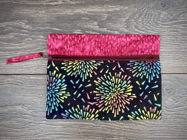 fireworks travel pouch