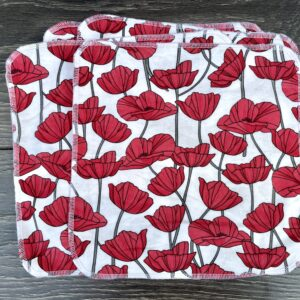 poppies tissues