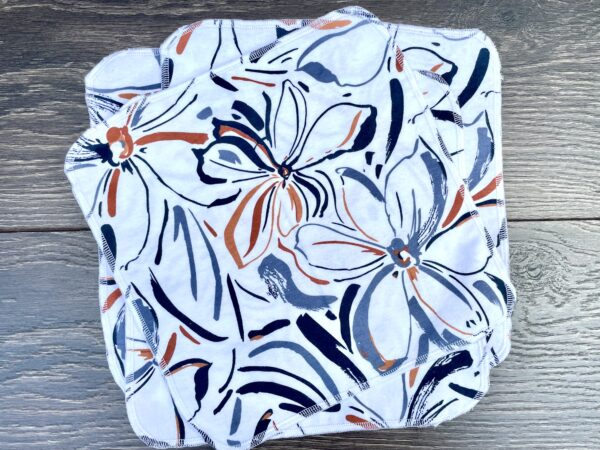 flowers tissues napkins wipes